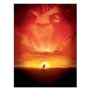 Хардпостер (на твёрдой основе) Lion King. Размер: 45 х 60 см