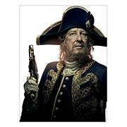 Хардпостер (на твёрдой основе) Pirates of the Caribbean. Размер: 45 х 60 см