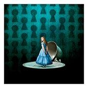 Хардпостер (на твёрдой основе) Alice in Wonderland. Размер: 50 х 50 см