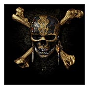 Хардпостер (на твёрдой основе) Pirates of the Caribbean. Размер: 50 х 50 см
