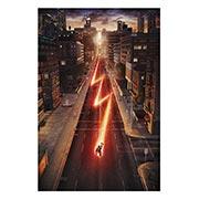Хардпостер (на твёрдой основе) Flash. Размер: 50 х 75 см