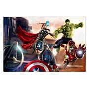 Хардпостер (на твёрдой основе) Avengers. Размер: 60 х 40 см