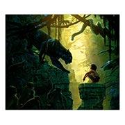 Хардпостер (на твёрдой основе) Jungle Book. Размер: 60 х 50 см
