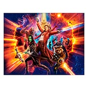 Хардпостер (на твёрдой основе) Guardians of the Galaxy. Размер: 65 х 50 см