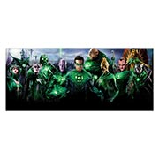 Хардпостер (на твёрдой основе) Green Lantern. Размер: 70 х 30 см
