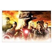 Хардпостер (на твёрдой основе) Avengers. Размер: 70 х 45 см