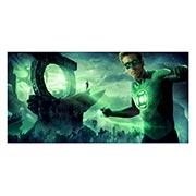 Хардпостер (на твёрдой основе) Green Lantern. Размер: 80 х 40 см