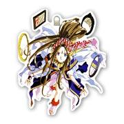 Купить фигурные наклейки Ah! My Goddess