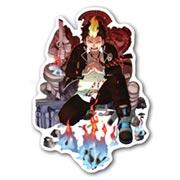 Купить фигурные наклейки Ao no Exorcist