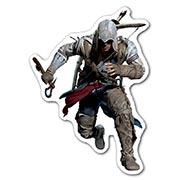 Фигурная наклейка Assassin's Creed