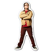 Фигурная наклейка Big Bang Theory