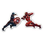Фигурная наклейка Captain America