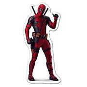 Фигурная наклейка Deadpool