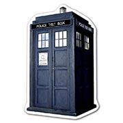Фигурная наклейка Doctor Who