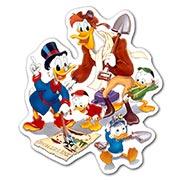 Купить фигурные наклейки Duck Tales