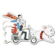 Купить фигурные наклейки Gintama