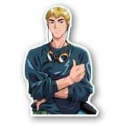 Фигурная наклейка Great Teacher Onizuka