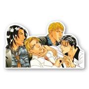 Купить фигурные наклейки Haru wo Daite Ita