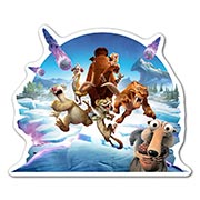 Купить фигурные наклейки Ice Age