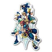 Купить фигурные наклейки Kingdom Hearts