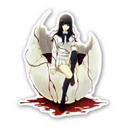 Купить фигурные наклейки Kara no Shoujo