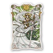 Купить фигурные наклейки Magic Knight Rayearth