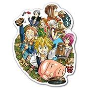 Купить фигурные наклейки Nanatsu no Taizai
