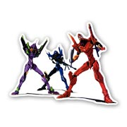 Купить фигурные наклейки Neon Genesis Evangelion