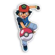 Фигурная наклейка Pokemon