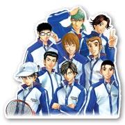 Купить фигурные наклейки Prince of Tennis