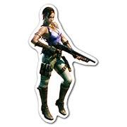 Фигурная наклейка Resident Evil