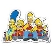 Фигурная наклейка Simpsons