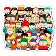 Фигурная наклейка South Park