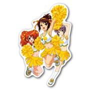 Купить фигурные наклейки Melancholy of Haruhi Suzumiya