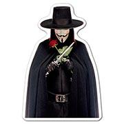 Фигурная наклейка V for Vendetta