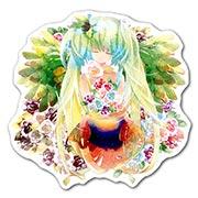 Купить фигурные наклейки Vocaloid