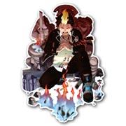 Купить фигурные интерьерные наклейки Ao no Exorcist