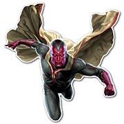 Фигурная интерьерная наклейка по аниме/манге Avengers