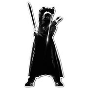 Фигурная интерьерная наклейка по аниме/манге Blade