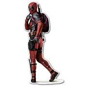 Фигурная интерьерная наклейка Deadpool