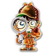 Купить фигурные интерьерные наклейки Detective Conan