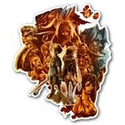 Купить фигурные интерьерные наклейки Final Fantasy