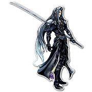 Фигурная интерьерная наклейка по аниме/манге Final Fantasy