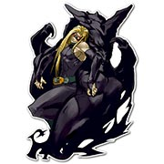 Фигурная интерьерная наклейка по аниме/манге Guilty Gear X
