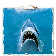 Купить фигурные интерьерные наклейки Jaws