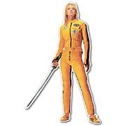 Фигурная интерьерная наклейка Kill Bill