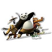 Фигурная интерьерная наклейка Kung Fu Panda