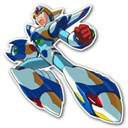 Фигурная интерьерная наклейка Mega Man