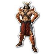 Купить фигурные интерьерные наклейки Mortal Kombat