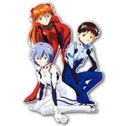 Купить фигурные интерьерные наклейки Neon Genesis Evangelion
